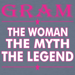 Gram The Woman The Myth The Legend - Men's T-Shirt