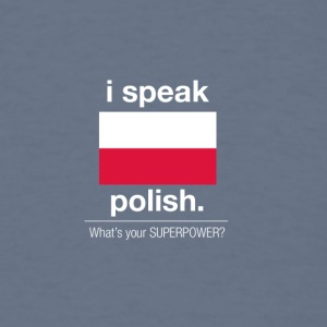SUPERPOWER polish - Men's T-Shirt