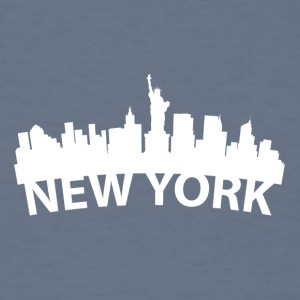Arc Skyline Of New York City NY - Men's T-Shirt