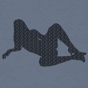 #SENDNUDES GIRL / come closer - Men's T-Shirt