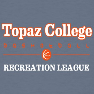 Topaz College Basketball - Men's T-Shirt