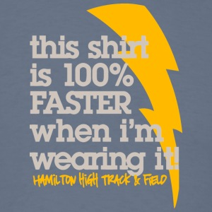 This shirt is 100 FASTER when I m wearing it Ham - Men's T-Shirt