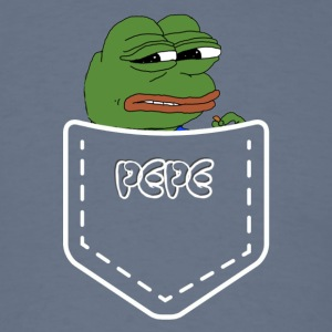 pepe in a pocket - Men's T-Shirt