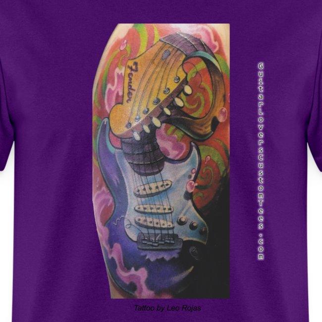 GuitarTattoo by GuitarLoversCustomTees png