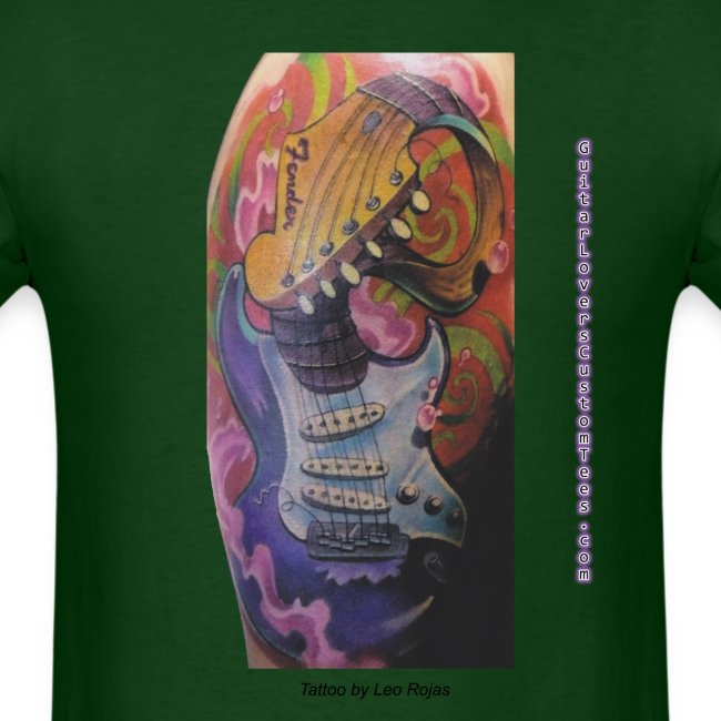 GuitarTattoo by GuitarLoversCustomTees png