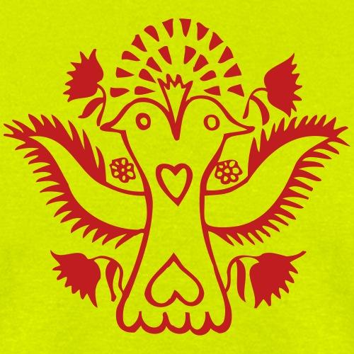 Double headed Lovebird - Men's T-Shirt