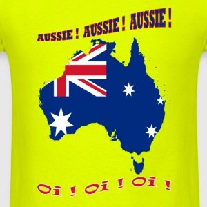 Aussie_Aussie-01 - Men's T-Shirt