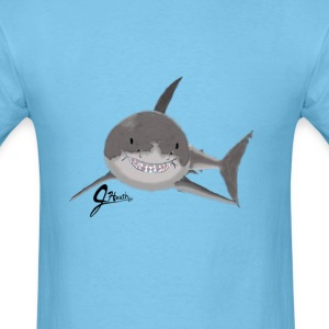 Great White Shark - Swaggy Shark - Men's T-Shirt