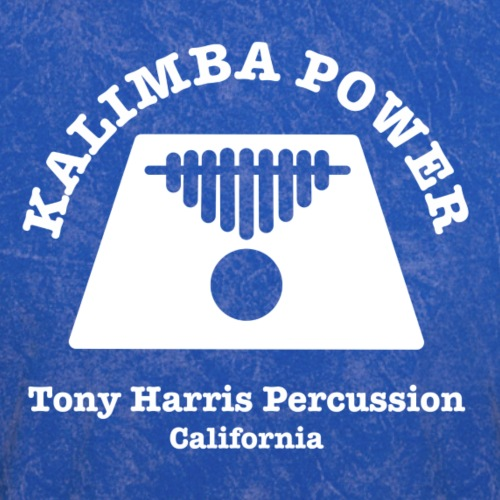 Kalimba Power Tony Harris Percussion w - Men's T-Shirt
