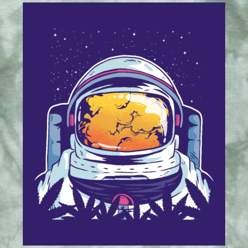 Astronaut smoke - Men's T-Shirt