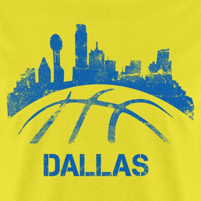 Dallas Basketball Skyline