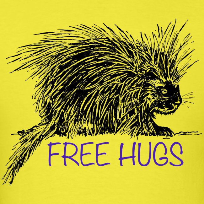 Porcupine Hugs Shirt (Womens) - Mens