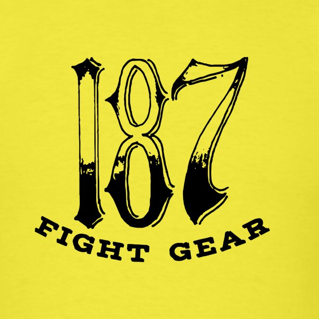 Trevor Loomes 187 Fight Gear Logo Best Sellers