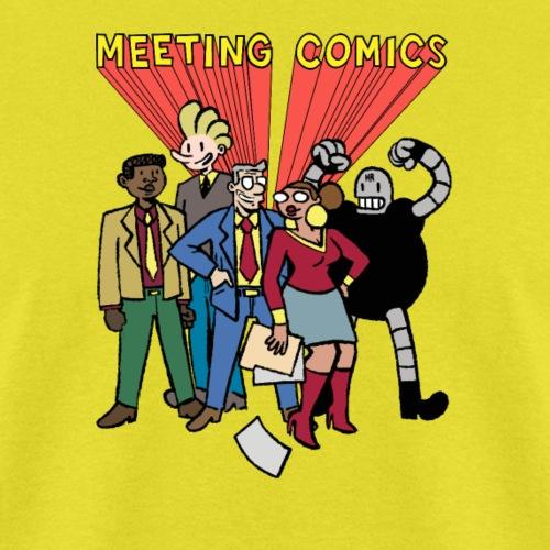 MEETING COMICS CAST