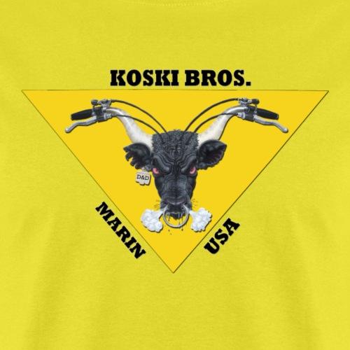 Koski Brothers Bull Logo - Men's T-Shirt
