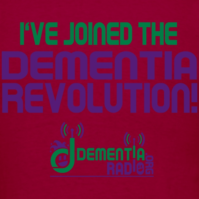 dementiaradiotshirt just d with face sm