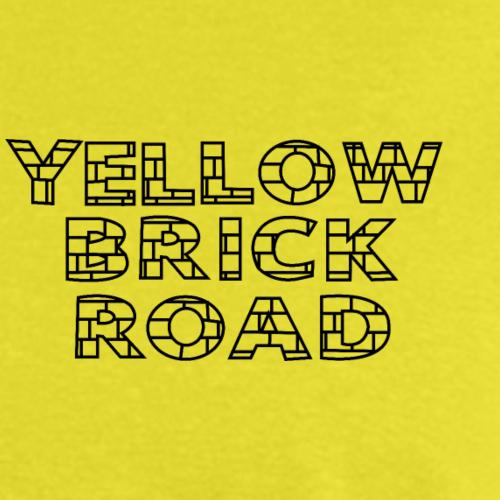 Yellow Brick Road (black) - Men's T-Shirt