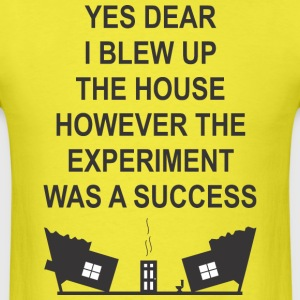 EXPERIMENT (Black - Men's T-Shirt