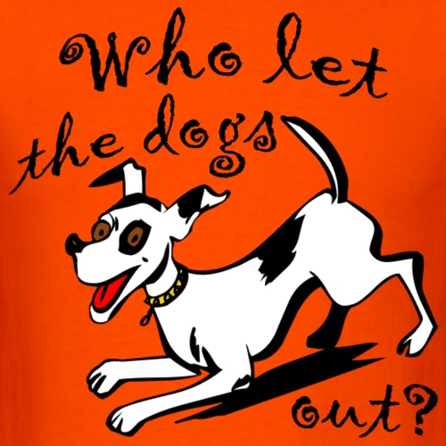 Happy Dog - Men's T-Shirt