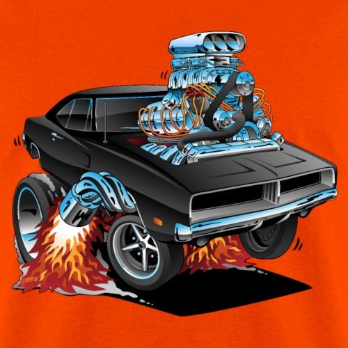Classic 69 American Muscle Car Cartoon - Men's T-Shirt