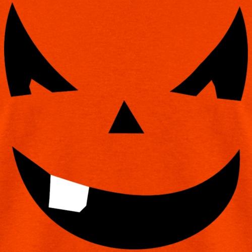 Smiling Pumpkin Face Shirts - Men's T-Shirt