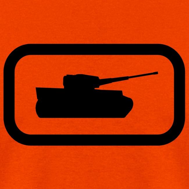 Tank Logo (Black) - Axis & Allies