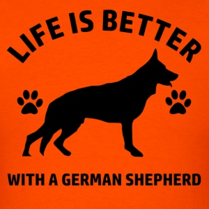 germnshepherd - Men's T-Shirt