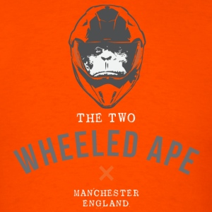 Two Wheeled Ape X design - Men's T-Shirt