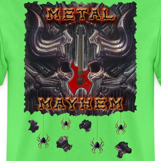 Metal Mayhem Tee Copyright 2018 by Michael Groebel