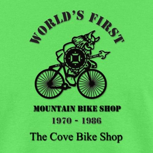 The Cove Bike Shop VIKING on front - Men's T-Shirt