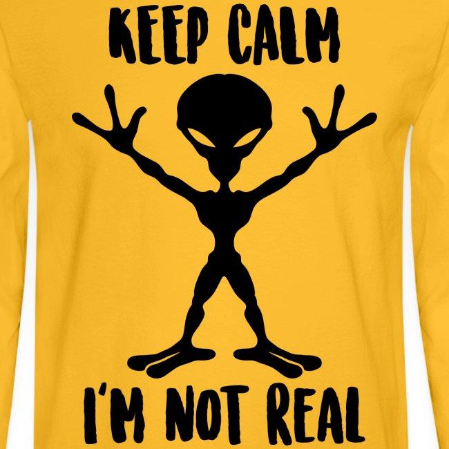 keep calm alien ufo