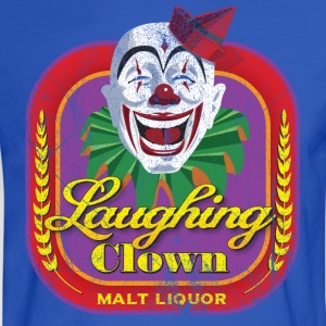 Laughing Clown Malt Liquor - Men's Long Sleeve T-Shirt