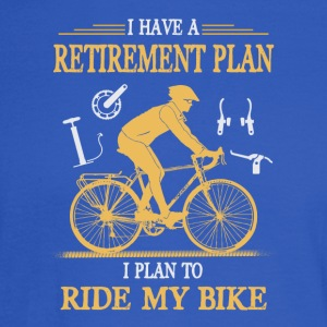 I Plan to Ride My Bike - Men's Long Sleeve T-Shirt