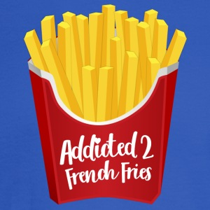 Addicted to French Fries - Men's Long Sleeve T-Shirt