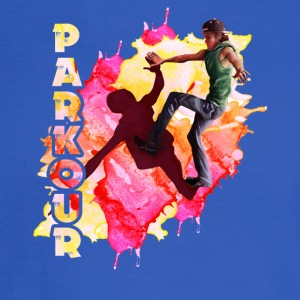 parkour player shirt - Men's Long Sleeve T-Shirt