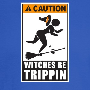 Caution Witches Be Trippin - Men's Long Sleeve T-Shirt