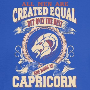 The Luckiest Men Are Born As Capricorn - Men's Long Sleeve T-Shirt