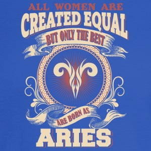The Luckiest Women Are Born As Aries - Men's Long Sleeve T-Shirt