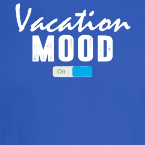 Vacation Mood on T-Shirt - Men's Long Sleeve T-Shirt