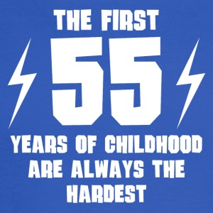 The First 55 Years Of Childhood - Men's Long Sleeve T-Shirt