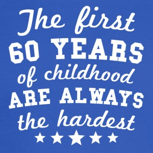 60 Years Of Childhood 60th Birthday - Men's Long Sleeve T-Shirt