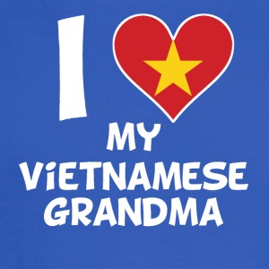 I Heart My Vietnamese Grandma - Men's Long Sleeve T-Shirt