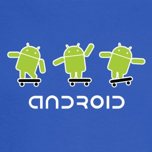 android logo T shirt - Men's Long Sleeve T-Shirt