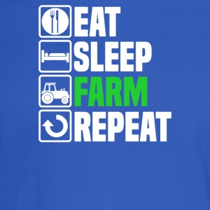 Eat Sleep Farm - Men's Long Sleeve T-Shirt