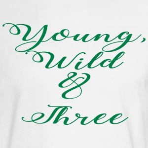Young Wild Three - Men's Long Sleeve T-Shirt