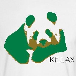 RELAX PANDA - Men's Long Sleeve T-Shirt