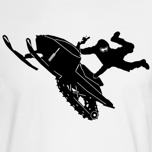 Snowmobil Jump - Men's Long Sleeve T-Shirt