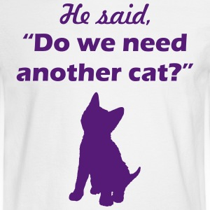he said cat - Men's Long Sleeve T-Shirt