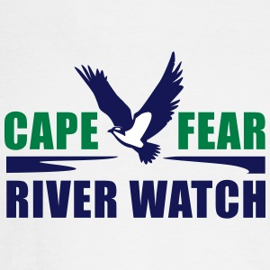 Cape Fear River Watch Logo - Men's Long Sleeve T-Shirt