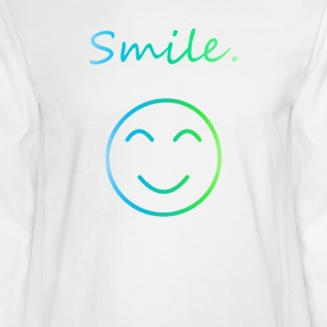 Smile - Men's Long Sleeve T-Shirt